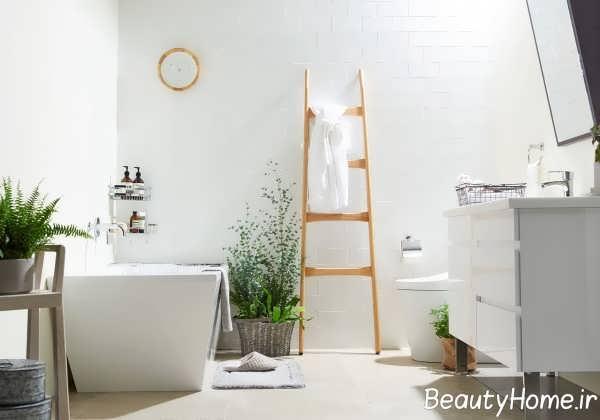 دکوراسیون حمام به سبک کمینه گرایی