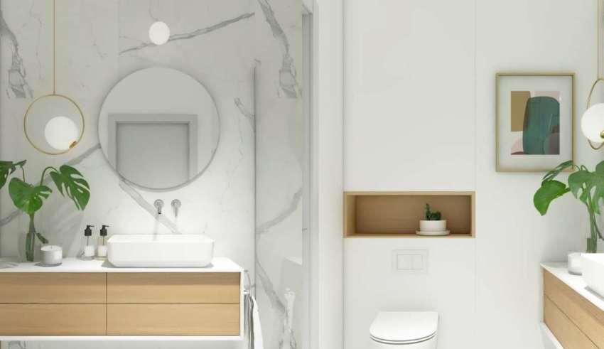 حمام مینیمالیستی