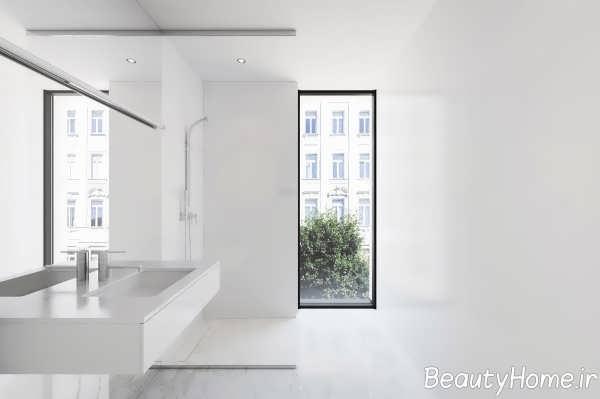 دکوراسیون مینیمالی حمام