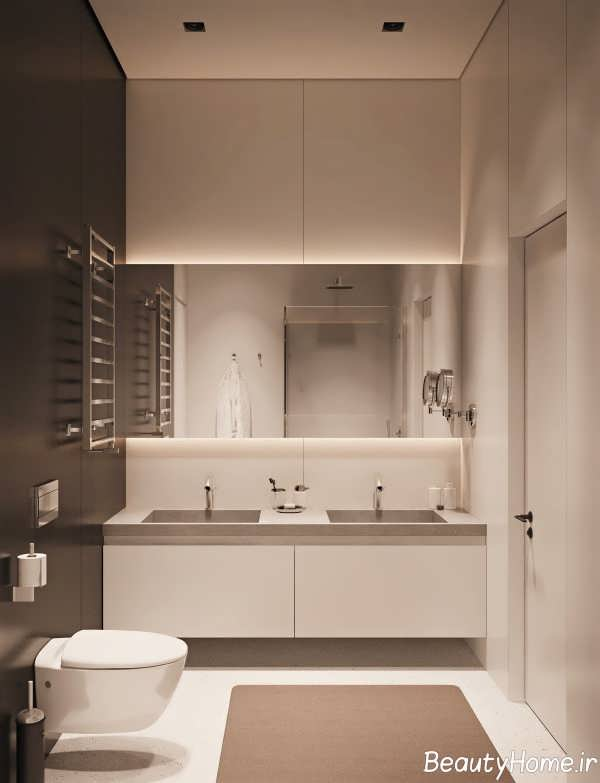 طراحی حمام و دستشویی شیک