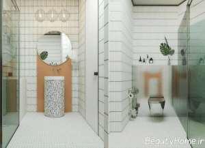حمام بزرگ و شیک