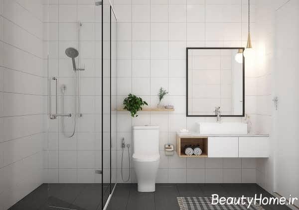 سبک مینیمالی حمام و دستشویی