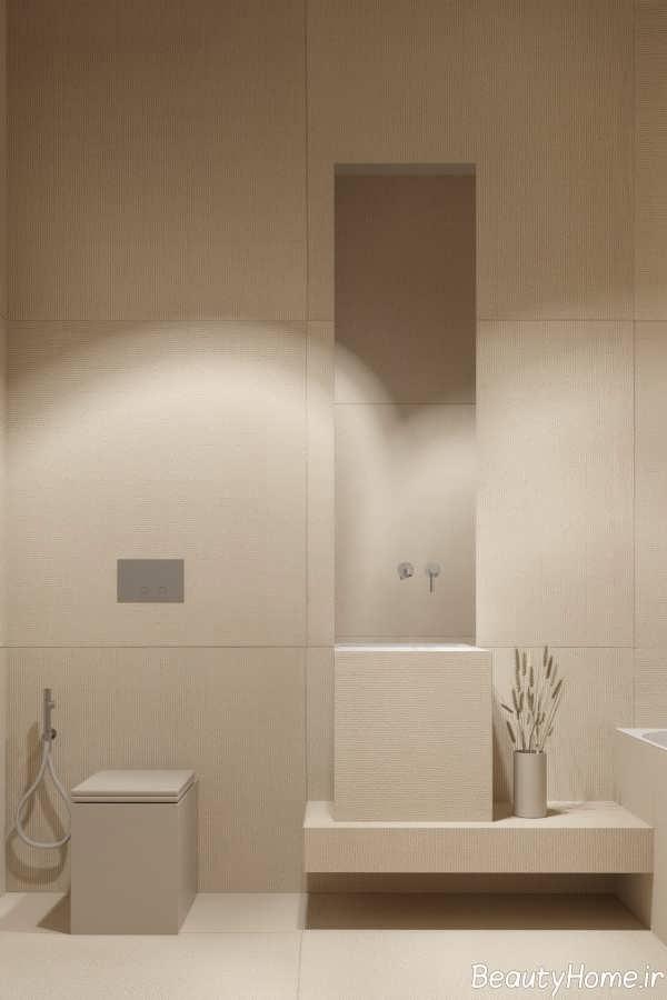 طراحی متفاوت حمام و دستشویی