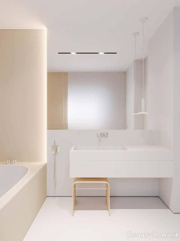 طراحی مینیمالی سرویس بهداشتی