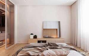 طراحی اتاق خواب به سبک مینیمالیست