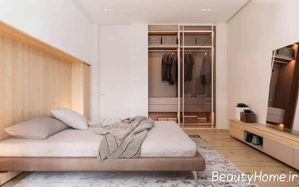 طراحی مینیمالیستی اتاق خواب