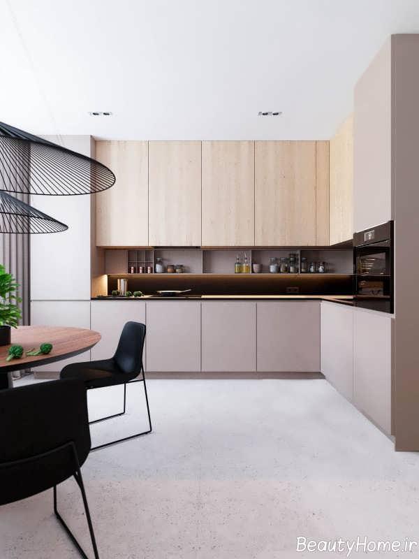 طراحی آشپزخانه به سبک مینیمال