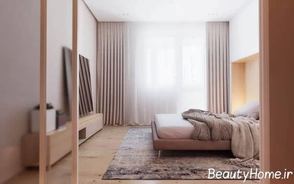 دیزاین اتاق خواب به سبک مینیمالیستی