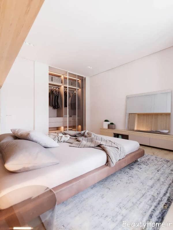 دکوراسیون اتاق خواب به سبک مینیمالیستی