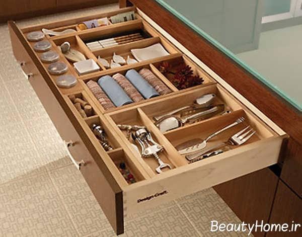 مدل کشو شیک برای کابینت های آشپزخانه