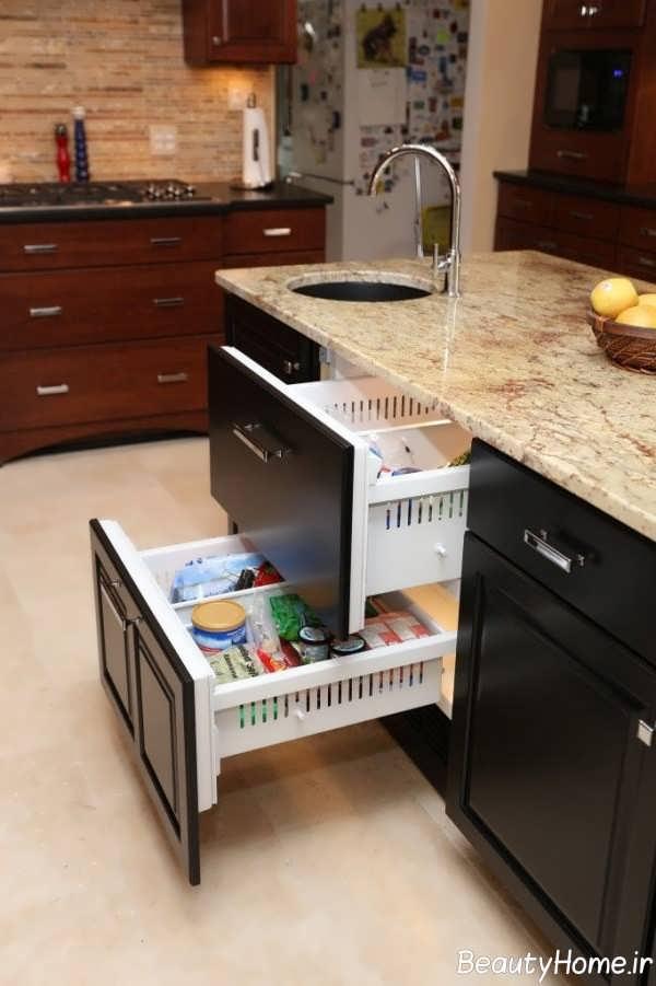 کشو کابینت آشپزخانه