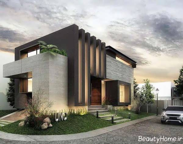 دیزاین نما ساختمان ویلایی