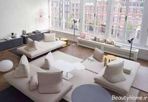 دکوراسیون مدرن و زیبا اتاق پذیرایی