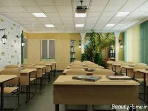 دکوراسیون زیبا و خلاقانه کلاس درس