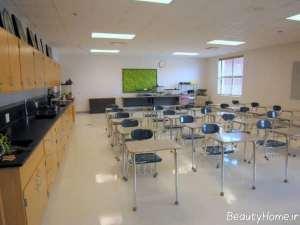 طراحی کلاس درس شیک و مدرن