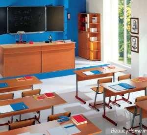 طراحی داخلی زیبا و کاربردی کلاس درس