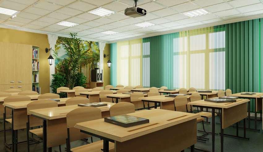 دکوراسیون کلاس درس
