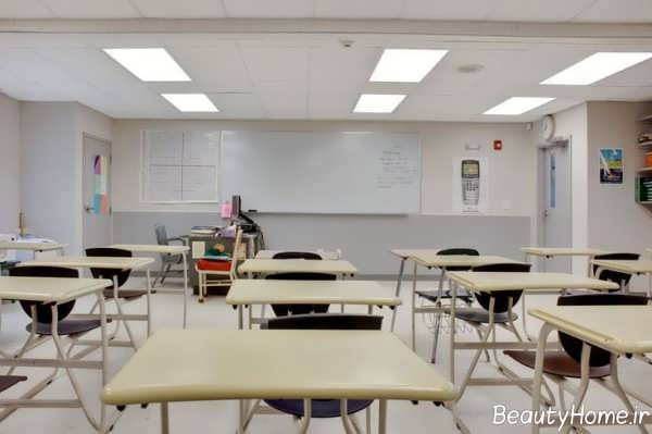 دکوراسیون زیبا و ساده کلاس درس