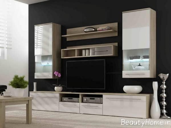 طراحی لاکچری میز تلویزیون