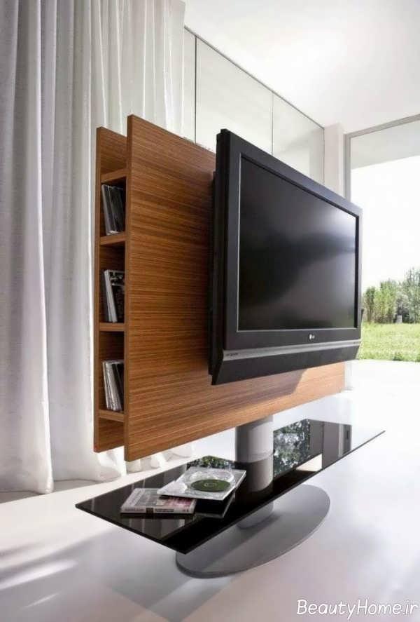 میز تلویزیون دیواری شیک