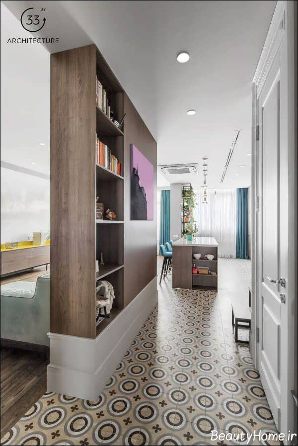 چیدمان فضای داخلی آپارتمان با نرژی
