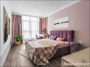طراحی داخلی فضای اتاق خواب با انرژی