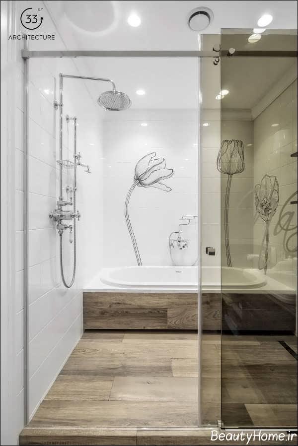 چیدمان حمام با انرژی