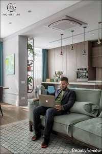 دکوراسیون جذاب آپارتمان با انرژی