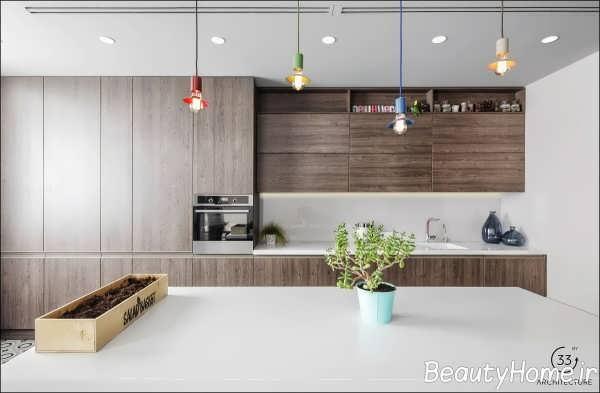 طراحی داخلی آپارتمان با انرژی