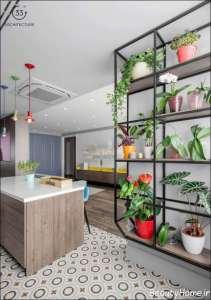 دکوراسیون لاکچری آپارتمان با انرژی