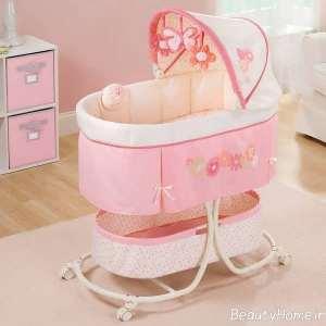 طرح کالسکه تخت خواب نوزاد