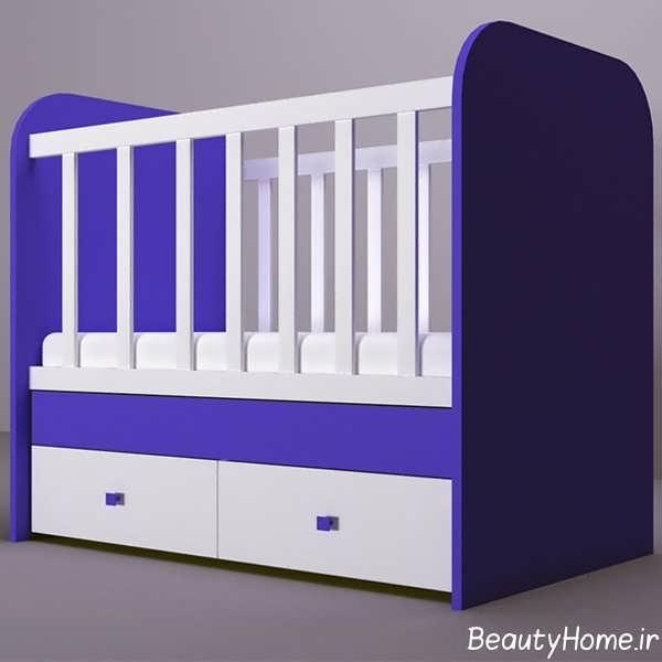 دیزاین لاکچری تخت خواب نوزاد