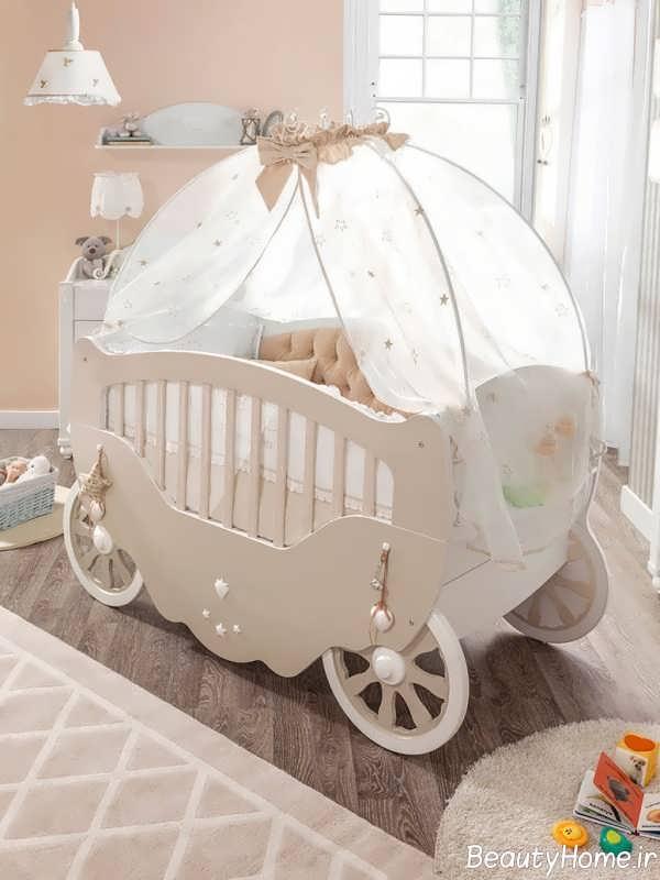 دیزاین جالب تخت خواب نوزاد