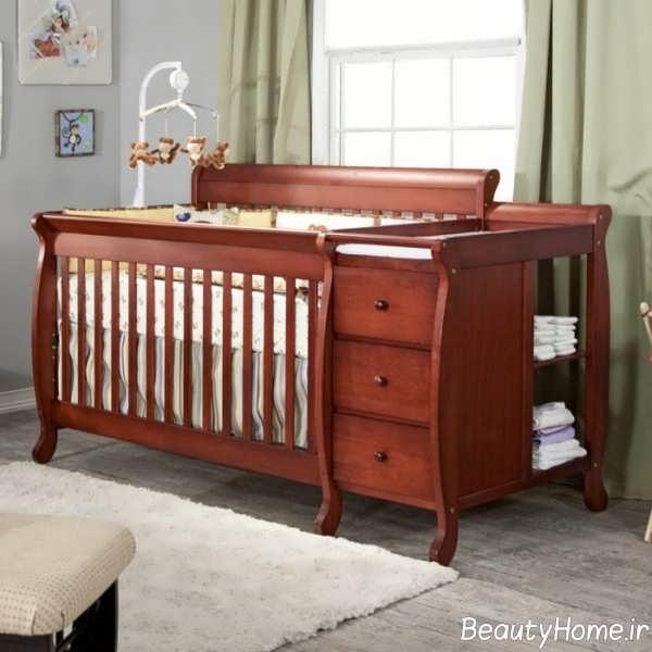 دیزاین فوق العاده تخت خواب نوزاد
