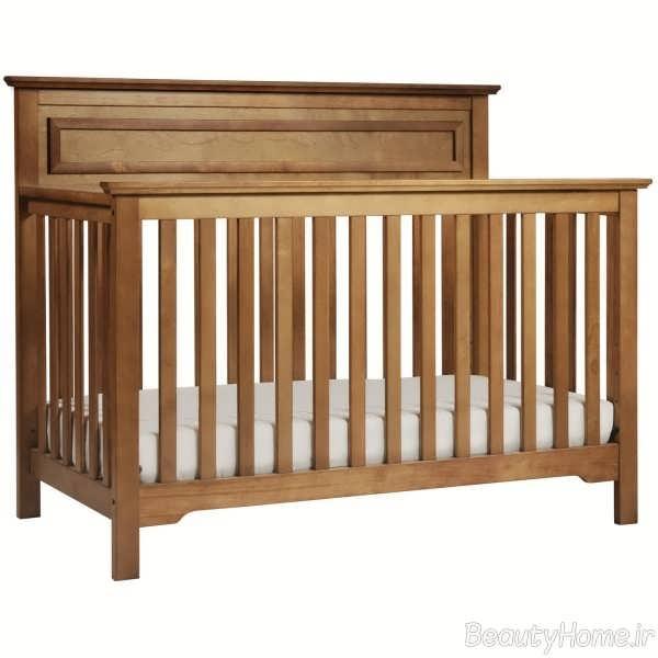 مدل تخت خواب نوزاد چوبی