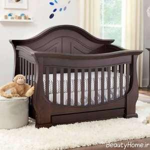 مدل لاکچری تخت خواب نوزاد