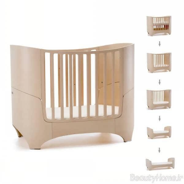 طراحی جدید تخت خواب نوزاد