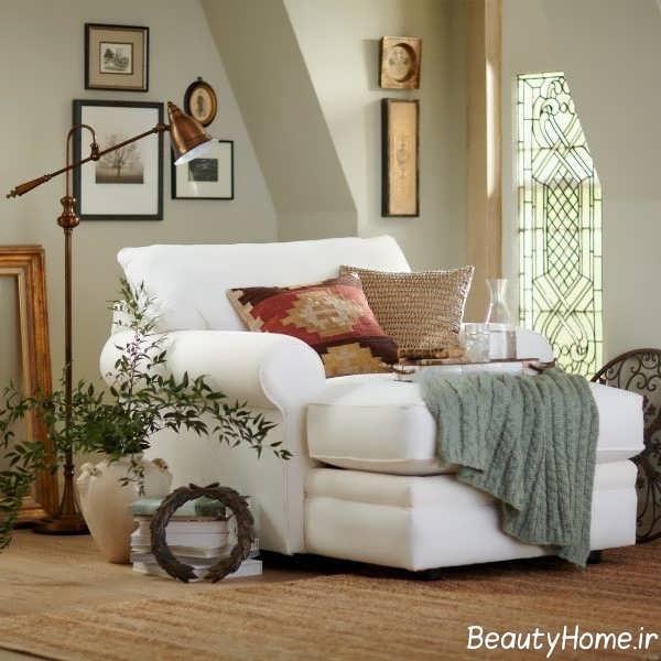 طراحی ایده آل صندلی راحتی اتاق خواب