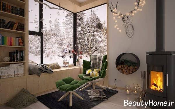 طراحی زیبای صندلی راحتی اتاق خواب