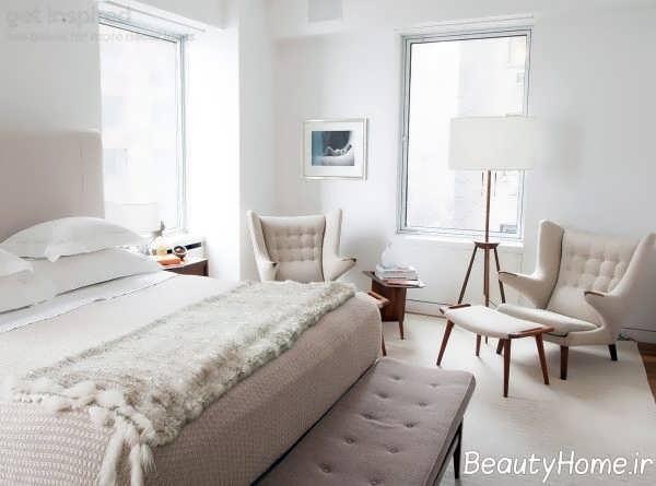 طراحی شیک صندلی راحتی اتاق خواب