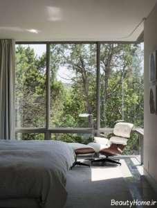 طراحی مدرن صندلی اتاق خواب