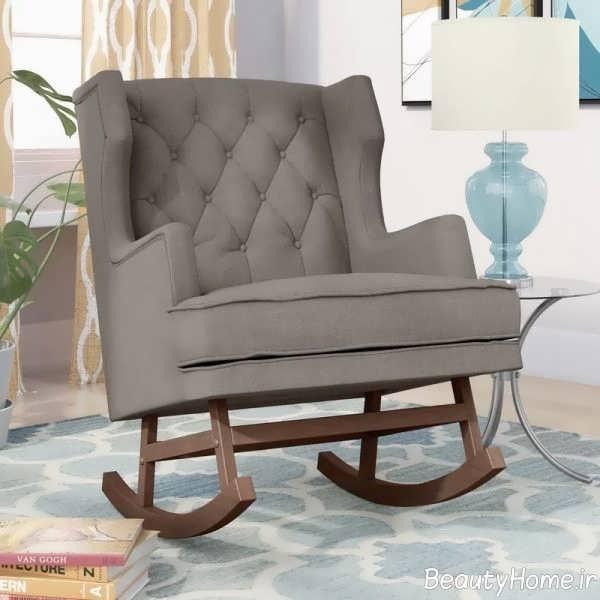 طراحی صندلی با پوشش نرم برای اتاق خواب