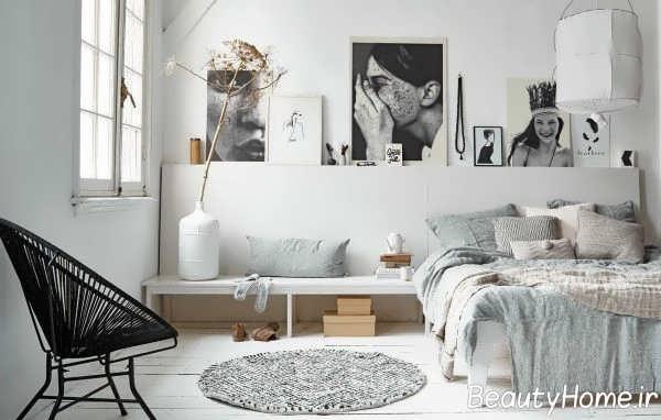 طرح زیبای صندلی برای اتاق خواب