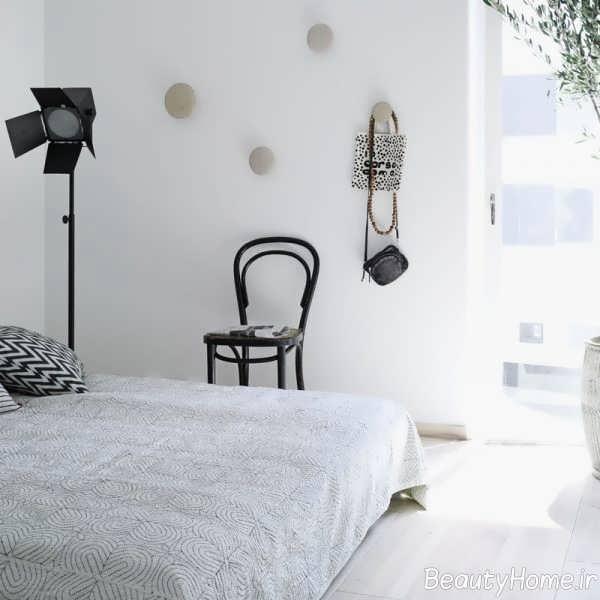 طراحی ساده صندلی اتاق خواب