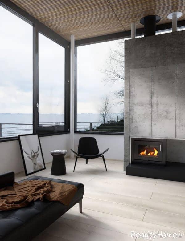 طراحی لاکچری صندلی اتاق