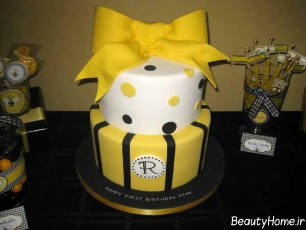 تزیین کیک تولد شیک و فانتزی