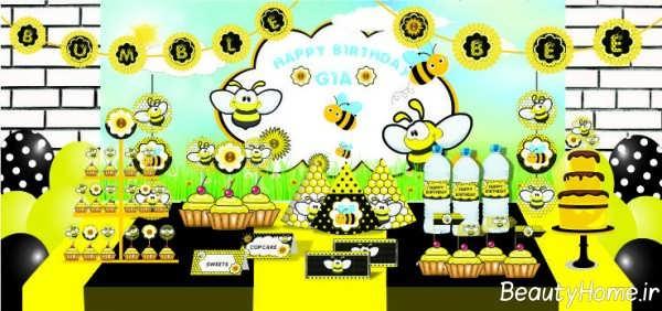 تم زنبوری شیک و خلاقانه