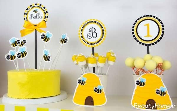 تزیین زیبا جشن تولد