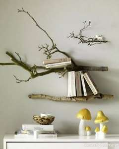 خلاقیت با شاخه درخت