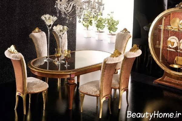مدل میز ناهار خوری سلطنتی